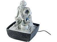 infactory Beleuchteter<br />Zimmerbrunnen mit Engel