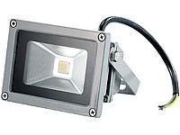 PEARL Wetterfester LED-<br />Fluter  Metallgrau, 10W, IP65...