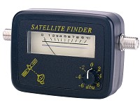 Q-Sonic Digitaler<br />Satelliten-Finder mit Pegelskala &amp;...