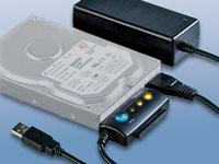 c-enter Adapter IDE auf<br />USB2.0 f&uuml;r 2,5&quot;-/3,5&quot;-Festpl...