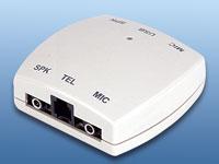 Adapter Phone zu PC f&uuml;r<br />VoIP mit jedem normalen Tele...