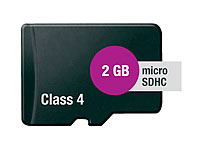 microSD / Transflash<br />Speicherkarte 2 GB Class 4