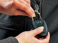 AGT Sicherheits-<br />Zahlenschloss mit extralangem Drahts...