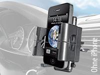 Lescars Kfz-Halterung<br />mit Schwanenhals f&uuml;r Smartphon...