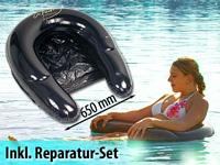 infactory poolsessel water chair ihr aufblasbarer wassersessel schwimmsessel. Black Bedroom Furniture Sets. Home Design Ideas