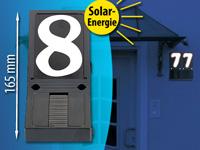 Hausnummer Beleuchtet lunartec hausnummernbeleuchtung beleuchtete hausnummer solar