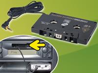 CD/MP3-Kassetten-<br />Adapter f&uuml;r Kfz-Betrieb