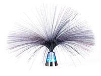 Lunartec Glasfaserlampe<br />&quot;Blue Ice&quot; mit farbwechselnd...