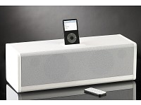 auvisio 2 1 soundsystem mit docking station f r ipod fernbedienung. Black Bedroom Furniture Sets. Home Design Ideas