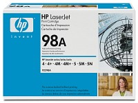 hp Original Toner-Kartusche 92298A (No.98A) hp Original Toner-Cartridges für HP-Laserdrucker