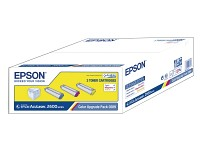 Epson Original Color Upgrade Pack S050289,cyan/magenta/yell. Epson Original Toner Cartridges für Epson-Laserdrucker