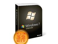 Microsoft Windows 7 Ultimate OEM 32-Bit inkl. SP1