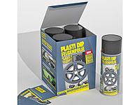 Plasti Dip Felgenfolie-<br />Set, 4x400ml, matt schwarz
