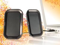 auvisio Portables<br />Stereo-Lautsprecher-System &quot;SLS-24...