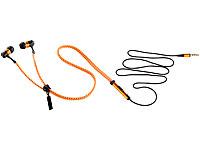 auvisio Zipper-Headset<br />IE-400.zip mit Rei&szlig;verschluss...