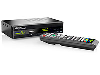 Digitaler pearl.tv HD-<br />Sat-Receiver DSR-395U.SE mit F...