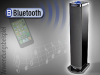 auvisio Bluetooth-<br />Standlautsprecher MSX-320.bt Stere...