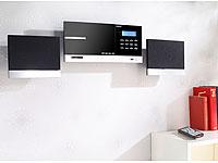 auvisio HiFi-Micro-<br />Stereoanlage Bluetooth MSX-670.bt...