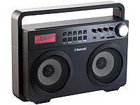 auvisio Ghettoblaster<br />MPS-689.BT mit Bluetooth und M...