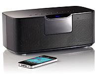 auvisio Stereo HiFi-<br />Lautsprecher MSX-200.bt mit Blue...