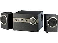 auvisio 2.1 Premium-<br />Multimedia-Soundsystem MSX-390.B...
