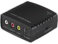 Q-Sonic USB-Video-<br />Grabber VG-310 zum Video-Digitalis...