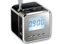 auvisio Mini-MP3-<br />Station &quot;MPS-550.cube&quot; mit integrie...