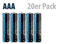 PEARL Super Alkaline<br />Batterien Micro 1,5V Typ AAA, 2...