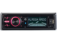 Creasono DAB+/FM MP3-<br />Autoradio &quot;CAS-4400bt&quot; USB / SD...