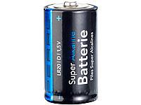 PEARL Sparpack Alkaline<br />Batterien Mono 1,5V Typ D im...