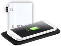 Callstel Induktions-<br />Ladestation und Qi-Receiver-Pad ...