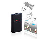simvalley MOBILE GPS-Tracker simlocate T1 mit SOS-Taste & GPS-Ortung simvalley MOBILE GSM-Tracker