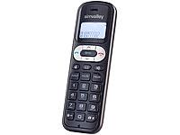simvalley DECT-<br />Mobilteil &quot;FNT-1050.easy&quot; GAP, ECO-DE...