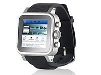 simvalley MOBILE 1.5&quot;-<br />Smartwatch AW-421.RX Android/B...
