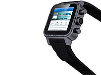 simvalley 1.5&quot;-<br />Smartwatch AW-420.RX Android 4.2, BT,...