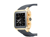 "simvalley MOBILE 1.5""-Smartwatch GW-420 Gold-Edition, 512MB RAM (refurbished) simvalley MOBILE Android-Smart-Watches"