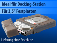 Xcase Silikon<br />Festplatten-Protektor - ideal f&uuml;r HDD-...