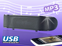 auvisio Mobiler 2.1<br />Kompakt-USB-Lautsprecher &quot;LSX-21...