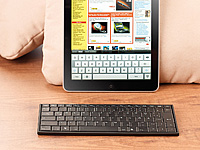 GeneralKeys Bluetooth-<br />Mini-Tastatur f&uuml;r iPad &amp; ander...