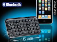 GeneralKeys Mini-<br />Bluetooth-Tastatur f&uuml;r PC, iPhone, ...