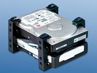 Mod-it Festplatten-<br />Halterung f&uuml;r 2,5&quot; &amp; 3,5&quot; HDDs
