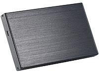 Xystec 2,5&quot; Alu-<br />Festplattengeh&auml;use USB 2.0 f&uuml;r SATA-...