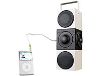 auvisio Portable Aktiv-<br />Soundbox mit USB- &amp; SD-Card-P...