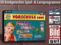 TOPOS Vorschule 2009 TOPOS Lern-Software (PC-Software)