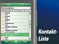 simvalley MOBILE Smartphone XP-65 mit Windows Mobile 6.1 VERTRAGSFREI simvalley MOBILE
