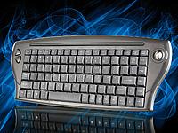 GeneralKeys Mini-<br />Multimedia-Funktastatur mit Trackba...