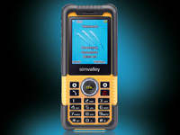 simvalley MOBILE Action-<br /> &amp; Outdoor-Handy XT-710 V.2 ...