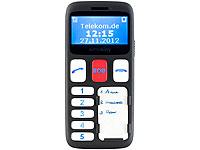 simvalley MOBILE<br />Komfort-Mobiltelefon XL-901 mit Gar...
