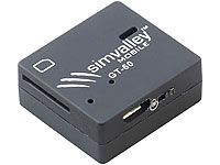 simvalley MOBILE GSM-<br />Tracker GT-60 mit SMS-Ortung un...