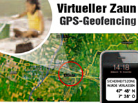 simvalley MOBILE GPS-GSM-Tracker GT-170 V.1 - SMS-Ortung & Geofencing simvalley MOBILE
